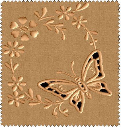 ABC Designs 9 Cutwork Butterflies Machine Embroidery Designs Set 5u0026quot;x7u0026quot; Hoop