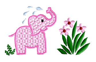 "abc designs baby & kids #1 machine embroidery 8 designs set 4""x4"